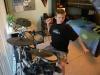 bruce's grandson on drums