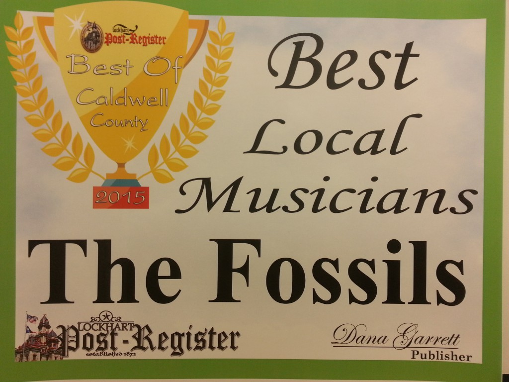Best of Caldwell County 2015 Fossils