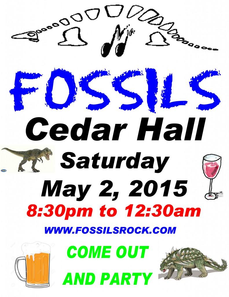 Fossil at Cedar Hall 2015-05-02 copy